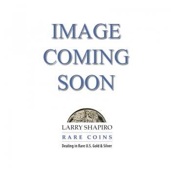 1923 $1 Peace Dollar PCGS MS66+ PLUS (CAC) BLAST WHITE #1286-5