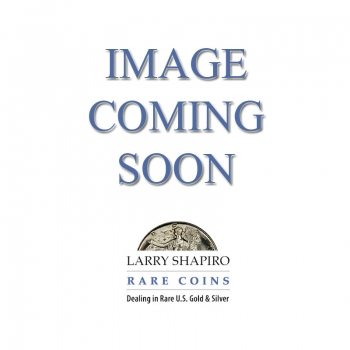 1925 $1 Peace Dollar PCGS MS62 *MINT ERROR* Lamination Plan Obv  EB-591