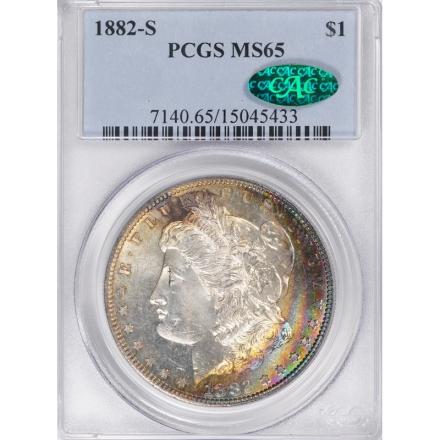 1882-S $1 Morgan Dollar PCGS MS65 3306-11