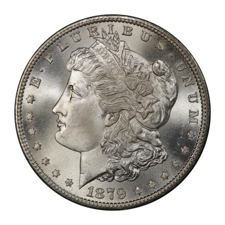 1879-S $1 Morgan Dollar PCGS MS68 (CAC) 3091-4