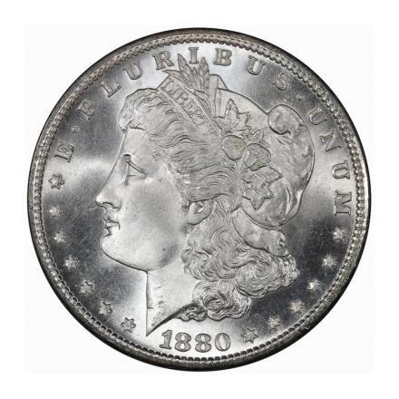1880-S $1 Morgan Dollar PCGS MS68 (CAC) #3212-1 PQ