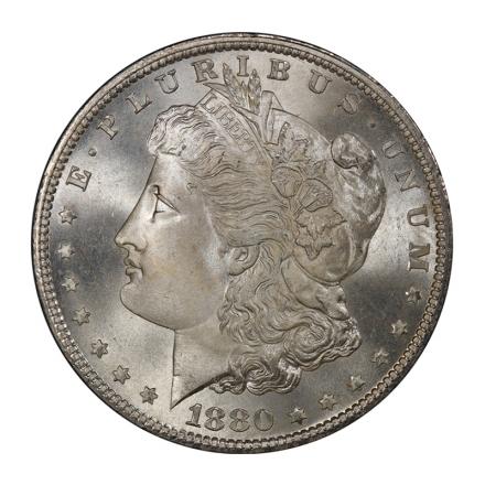 1880-S $1 Morgan Dollar PCGS MS68 (CAC) #3091-7