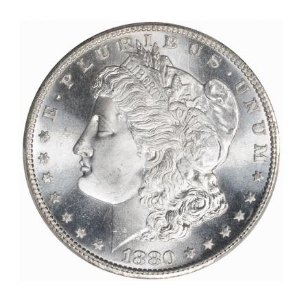 1880-S $1 Morgan Dollar PCGS MS68 (CAC) #3234-3