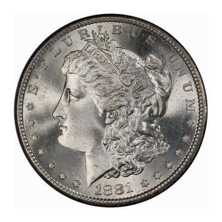 1881-S $1 Morgan Dollar PCGS MS68 (CAC) #3204-6