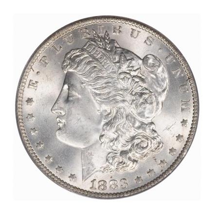1883-O $1 Morgan Dollar PCGS MS65 (CAC) #3242-5 LARRY MILLER! PQ!