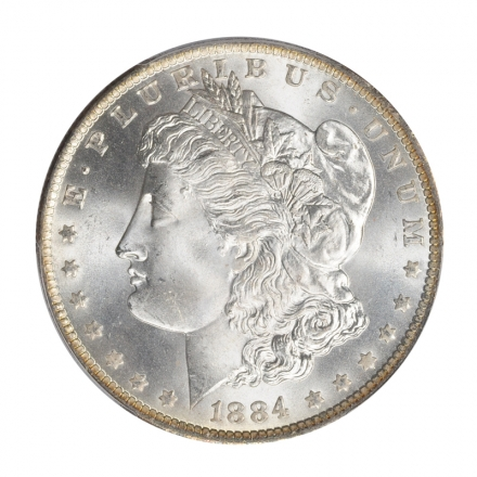 1884-O $1 Morgan Dollar PCGS MS67 (CAC) #3170-9