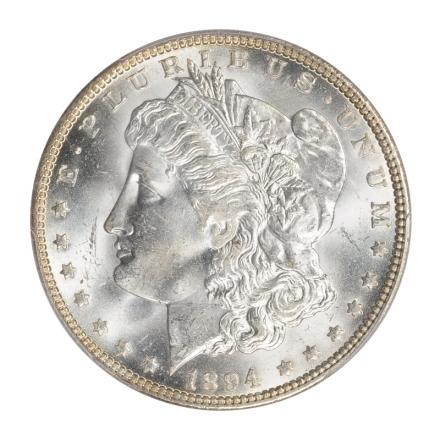 1894-O $1 Morgan Dollar PCGS MS64 (CAC) #3170-20