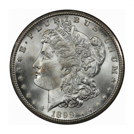 1899-O $1 Morgan Dollar PCGS MS67+ (CAC) #3215-2 ONLY ONE FINER!