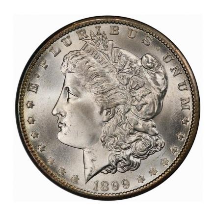 1899-O $1 Morgan Dollar PCGS MS67+ (CAC) #3242-16