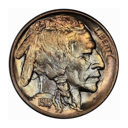 1915 5C Buffalo Nickel PCGS MS66 #3267-9