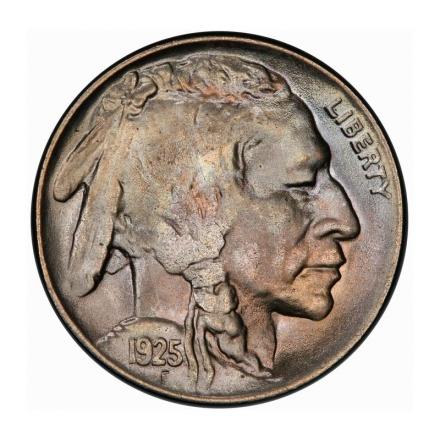 1925 5C Buffalo Nickel PCGS MS67 #3267-12