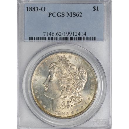 1883-O $1 Morgan Dollar PCGS MS62 3306-20