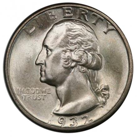 1932-D 25C Washington Quarter PCGS MS66 3294-18