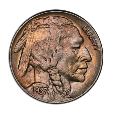1937-D 5C 3 Legs Buffalo Nickel PCGS AU58 #3300-1