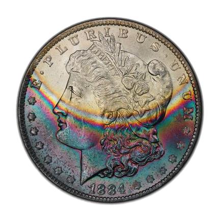 1884-O $1 Morgan Dollar PCGS MS63 (CAC) #3300-13