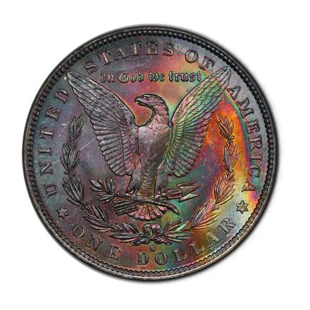 1883-O $1 Morgan Dollar PCGS MS63 (CAC) #3300-16