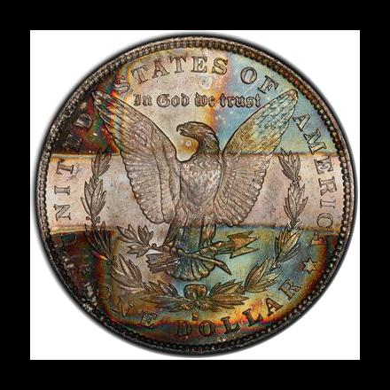 1879-S $1 Morgan Dollar PCGS MS64 (CAC) #3301-4