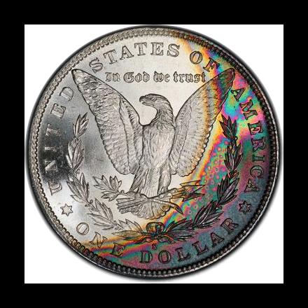 1880-S $1 Morgan Dollar PCGS MS66+ (CAC) #3301-9