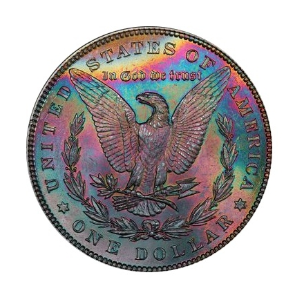1885 $1 Morgan Dollar PCGS MS64 (CAC) #3302-8