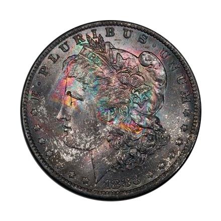 1883-O $1 Morgan Dollar PCGS MS64 3314-1 (CAC)