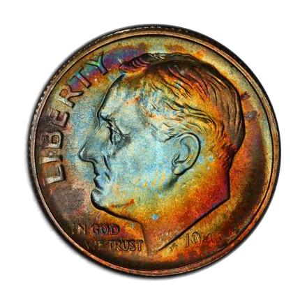 1948-S 10C Roosevelt Dime PCGS MS67FB #3328-2