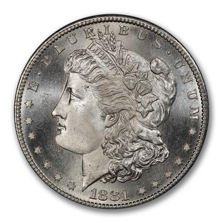 1881-S $1 Morgan Dollar PCGS MS68 #3016-3