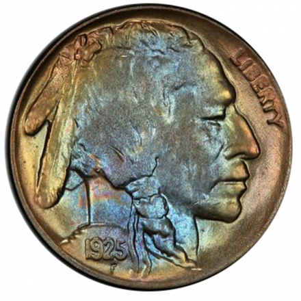 1925-D 5C Buffalo Nickel PCGS MS64 3294-7