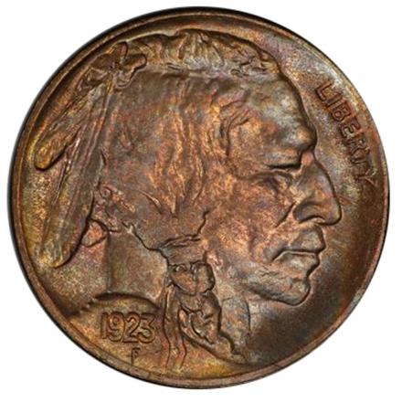 1923-S 5C Buffalo Nickel PCGS MS64 3294-5