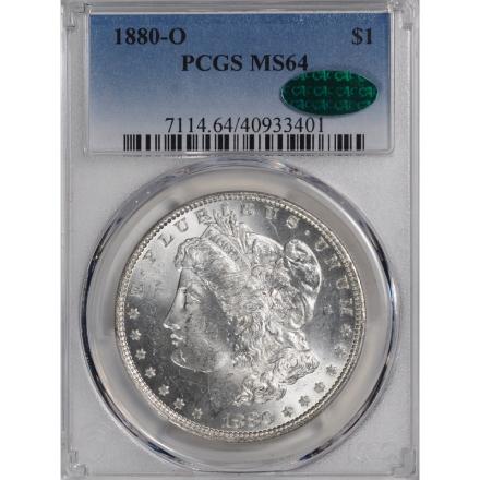 1880-O $1 Morgan Dollar PCGS MS64 (CAC) 3311-3