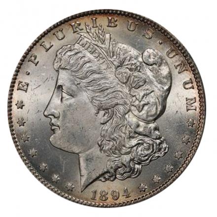 1894-S $1 Morgan Dollar PCGS MS63 3293-16