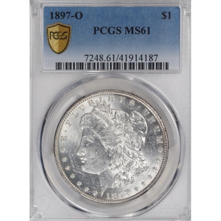 1897-O $1 Morgan Dollar PCGS MS61 3311-4