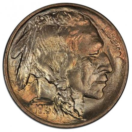 1913 5C Type 1 Buffalo Nickel PCGS MS67+ (CAC) #3293-10