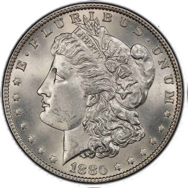 1880-O $1 Morgan Dollar PCGS MS64+ #3332-12