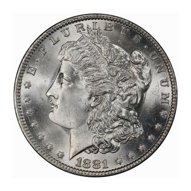 1881-O $1 Morgan Dollar PCGS MS66+ (CAC) #3251-3