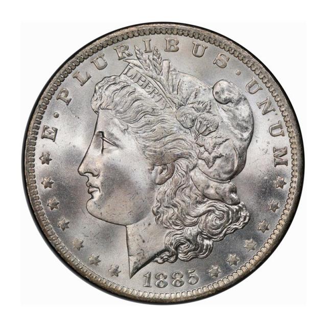 1885-O $1 Morgan Dollar PCGS MS67 (CAC) #3253-1