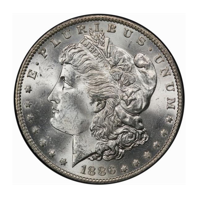 1886-O $1 Morgan Dollar PCGS MS64 (CAC)