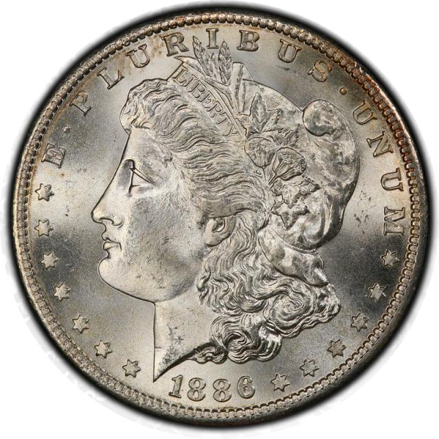 1886-S $1 Morgan Dollar PCGS MS66 (CAC) #3339-3