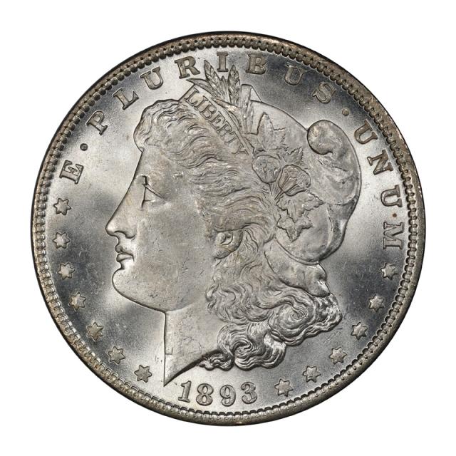 1893 $1 Morgan Dollar PCGS MS65+ (CAC) #3134-11