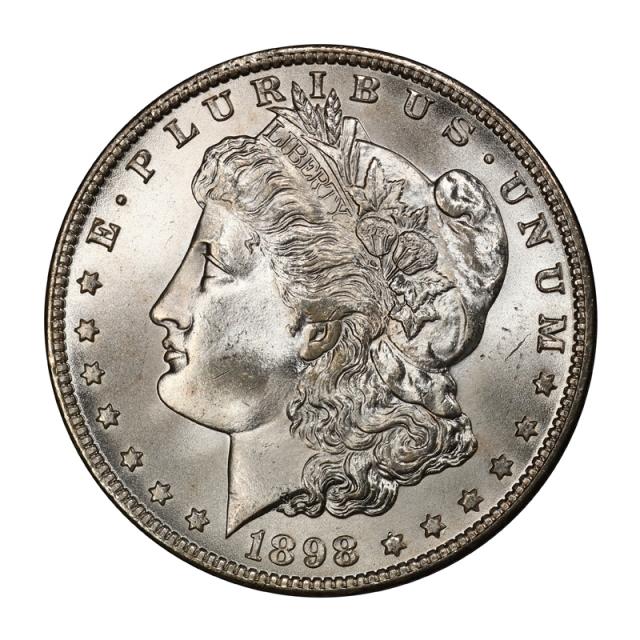 1898-O $1 Morgan Dollar PCGS MS67 (CAC) #3101-8