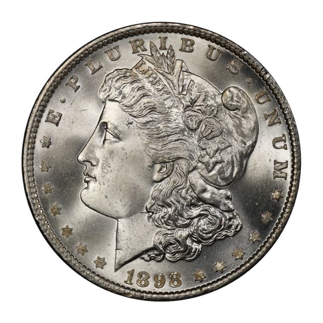 1898 $1 Morgan Dollar PCGS MS67+ #3134-14 (CAC)