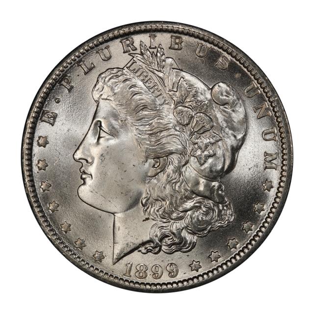 1899-O $1 Morgan Dollar PCGS MS67 #3137-1 (CAC)