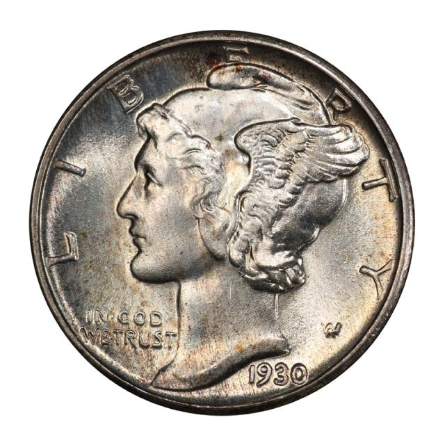 1930 10C Mercury Dime PCGS MS67FB #3099-8 WHITE!