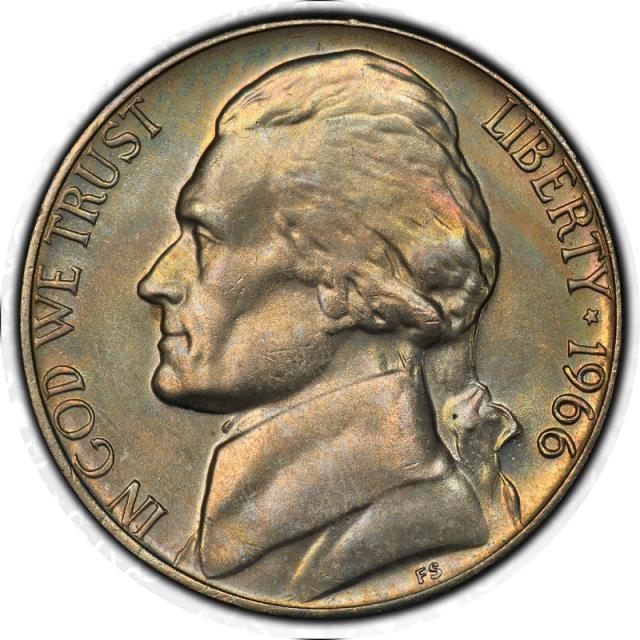 1983-P 5C Jefferson Nickel PCGS MS67FS #3350-10
