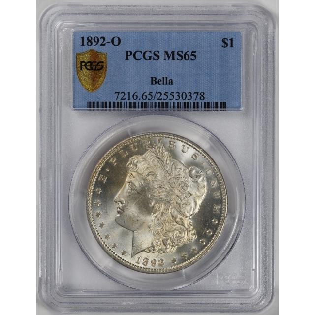 1892-O $1 Morgan Dollar PCGS MS65 #3347-5