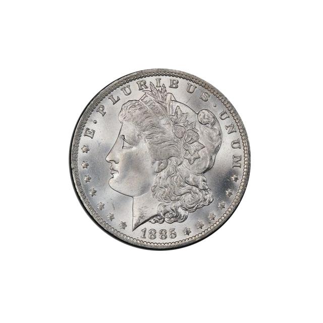 1885-O $1 Morgan Dollar PCGS MS66+ (CAC)  #3289-3