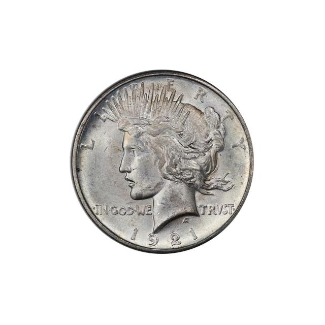 1921 $1 Peace Dollar - Type 1 High Relief PCGS MS64 #3295-17 VAM 1F