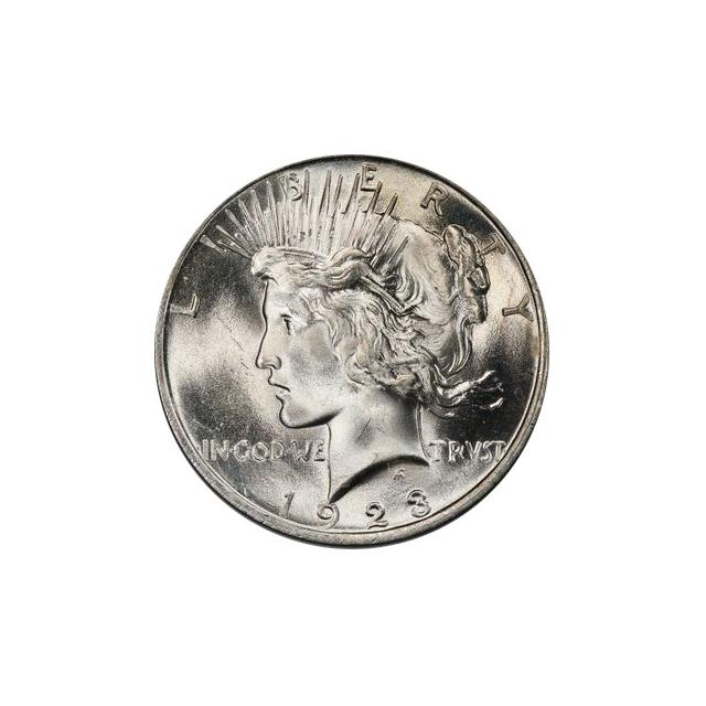 1923 $1 Peace Dollar PCGS MS66 (CAC) #3297-4