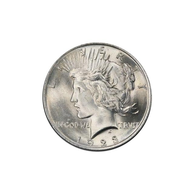1923 $1 Peace Dollar PCGS MS66 (CAC) #3297-5