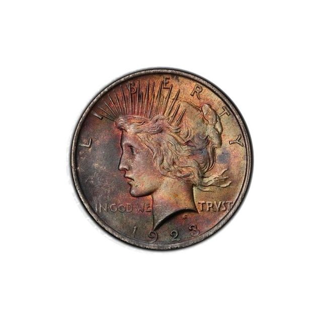 1923 $1 Peace Dollar PCGS MS63 #3298-13