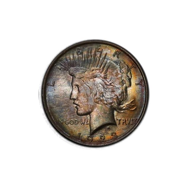 1923 $1 Peace Dollar PCGS MS64 #3298-16